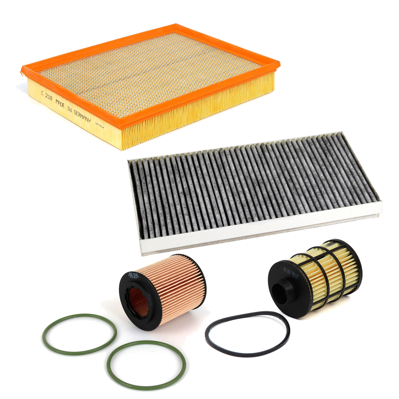 Inspektionskit Filterpaket Filterset für Fiat Croma Opel Signum Vectra C 1.9CDTI