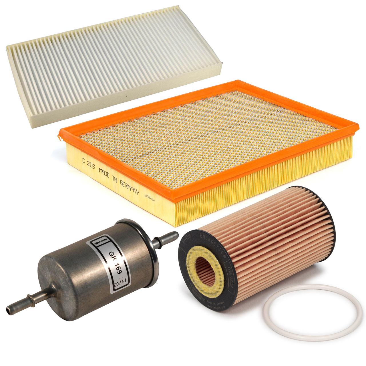 Inspektionskit Filterpaket Filterset für Opel Signum Vectra C 1.8 140 PS Z18XER