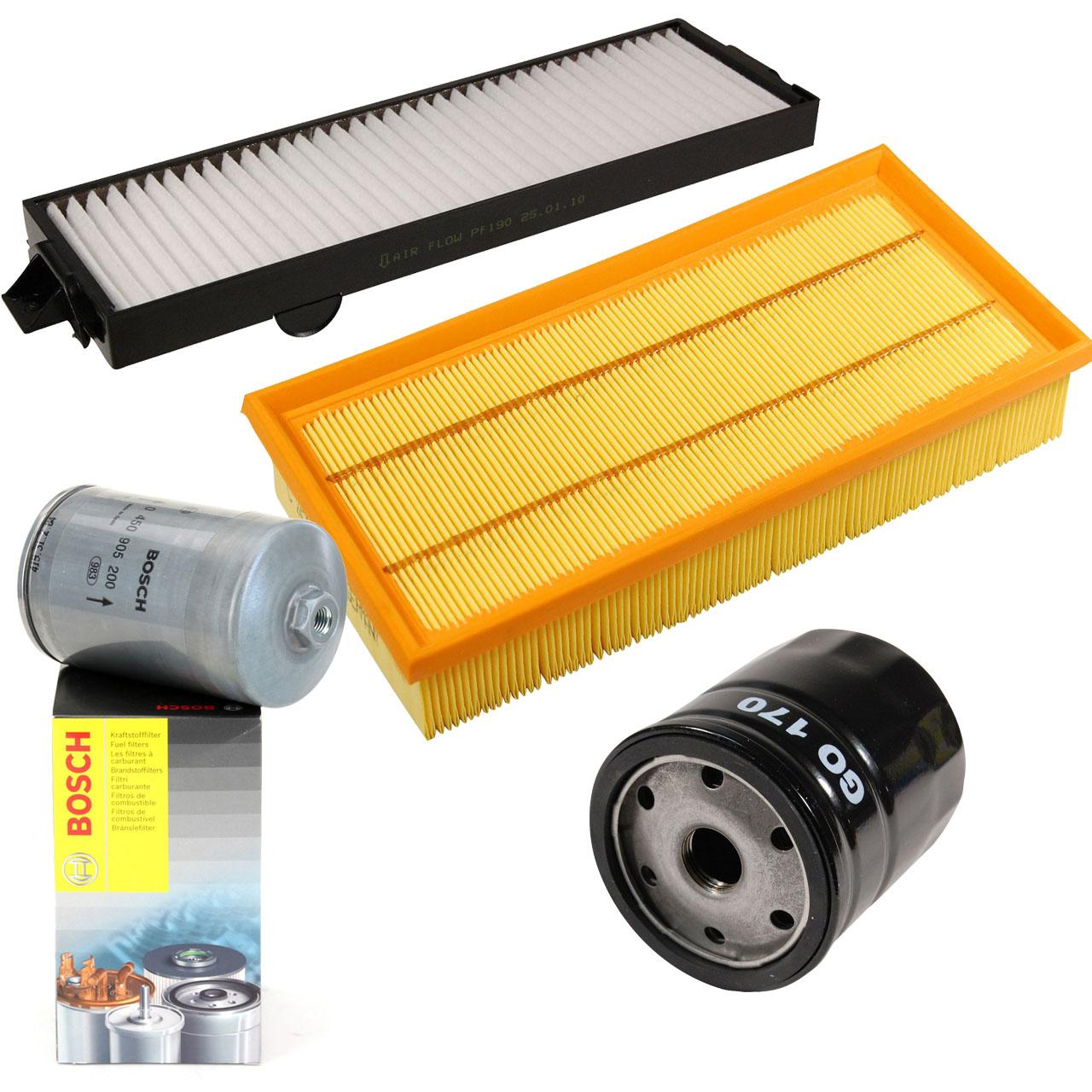 Filterpaket Filterset für Saab 9-3 (YS3D) 2.0Turbo 2.3Turbo 150-224PS