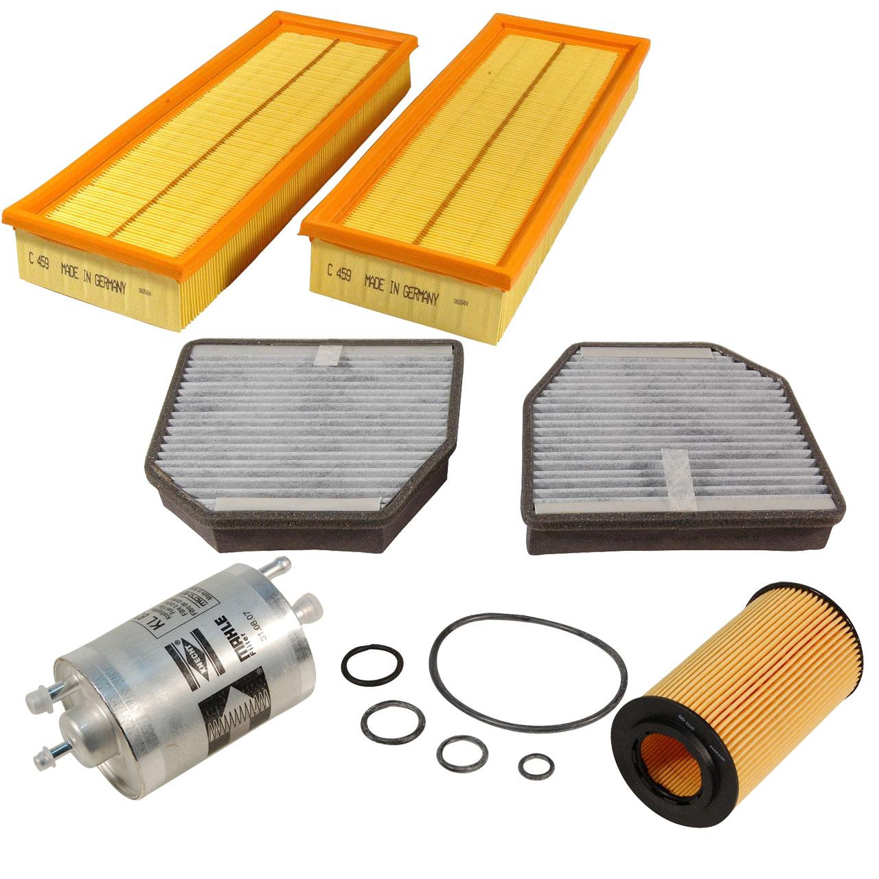 Inspektionskit Filterpaket Filterset für Mercedes W463 ab 09.2000 R230 280-500