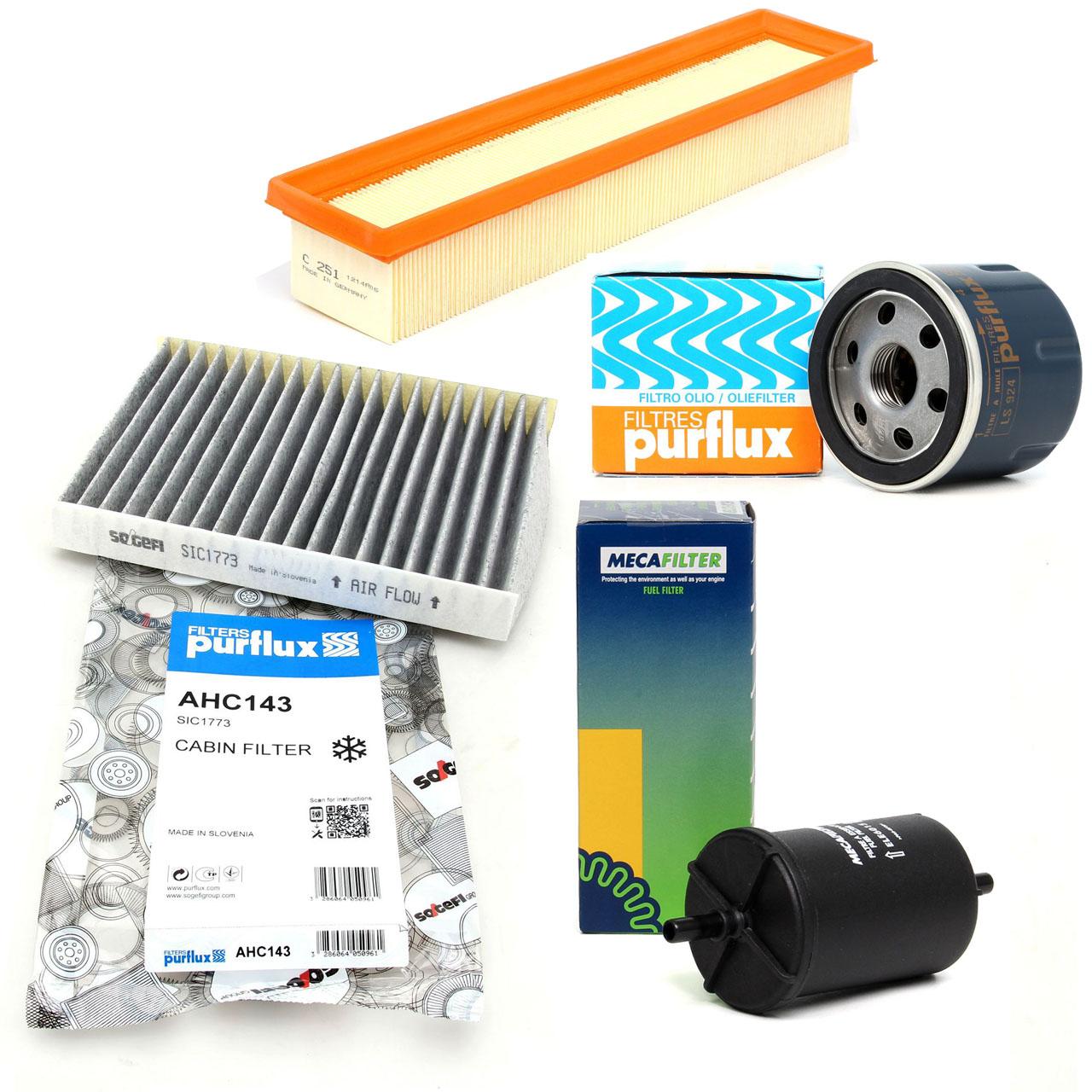 Inspektionskit Filterpaket Filterset für Renault Clio II Kangoo 1.2 16V 75 PS