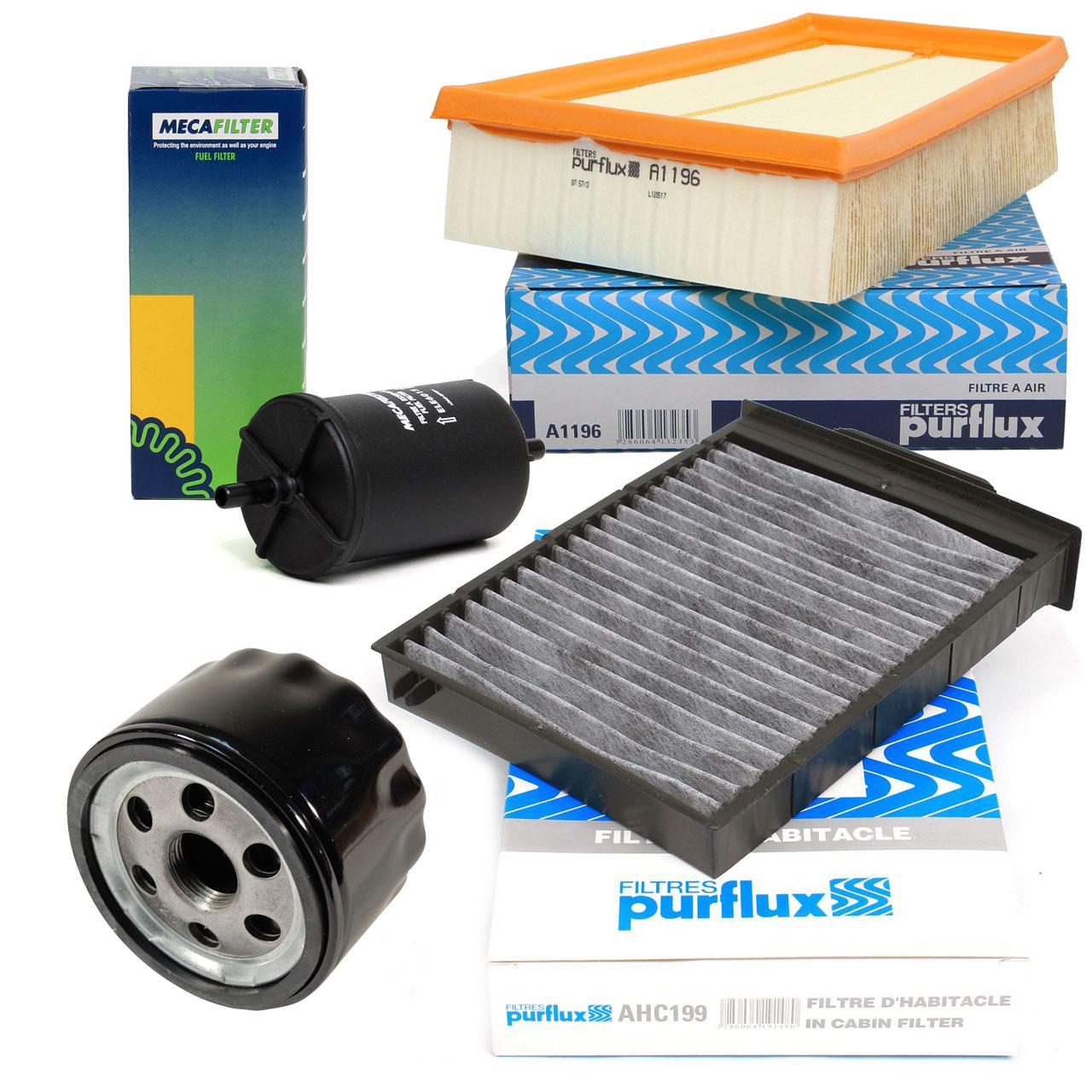 Inspektionskit Filterpaket Filterset für Renault Megane II 2.0/16V 135-230 PS