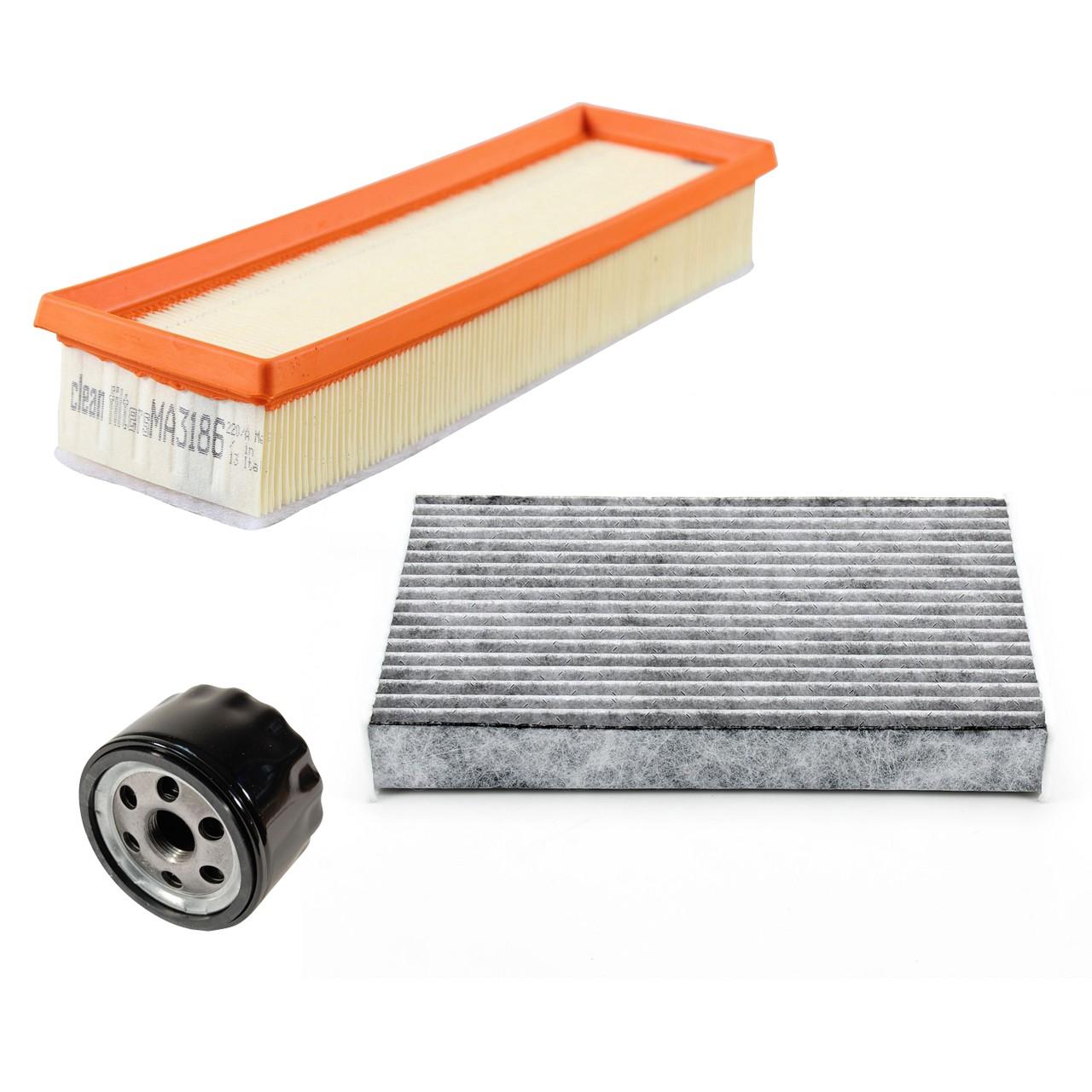 Inspektionskit Filterpaket Filterset für DACIA DOKKER LODGY 1.6 / 1.6 LPG 83 PS