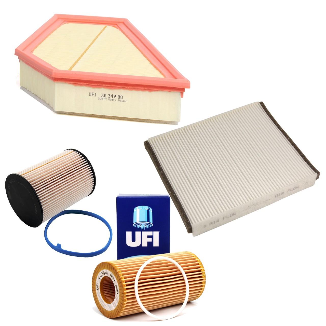 Inspektionskit Filterpaket für VOLVO C30 D5 C70 II 2.4D D5 V50 2.4DS 2.4Tdi