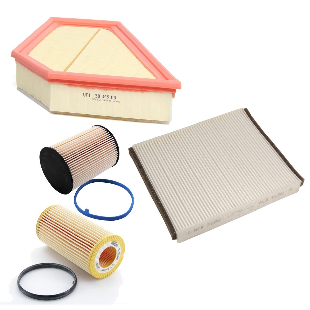 Inspektionskit Filterpaket für VOLVO C30 D3 C70 II D3 D4 S40 II (MS) D3 D4