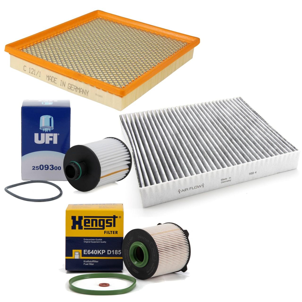 Inspektionskit Filterpaket Filterset für Opel Insignia 2.0CDTi 2.0Bi Turbo CDTi