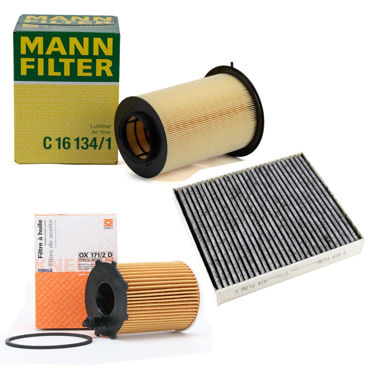 Inspektionskit Filterpaket FORD C-Max DM2 1.6 TDCi 90 / 101 / 109 PS