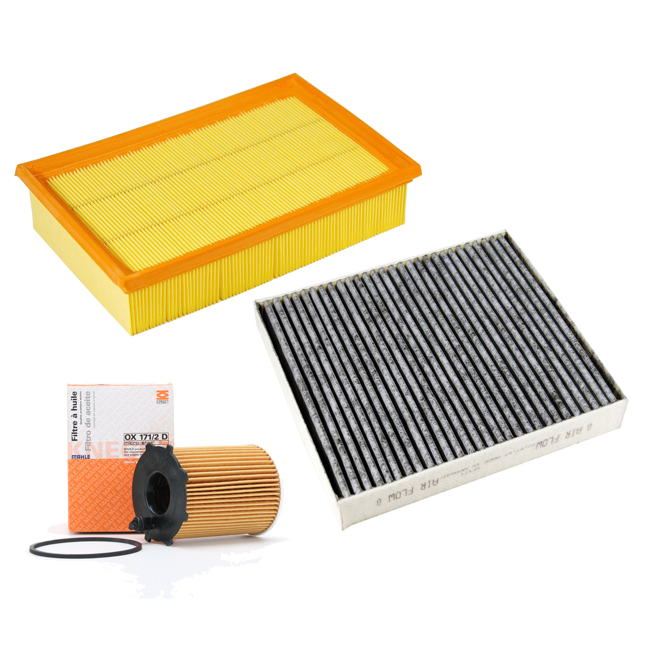 Inspektionskit Filterpaket FORD Focus C-Max DM2 1.6 TDCi 90 / 109 PS