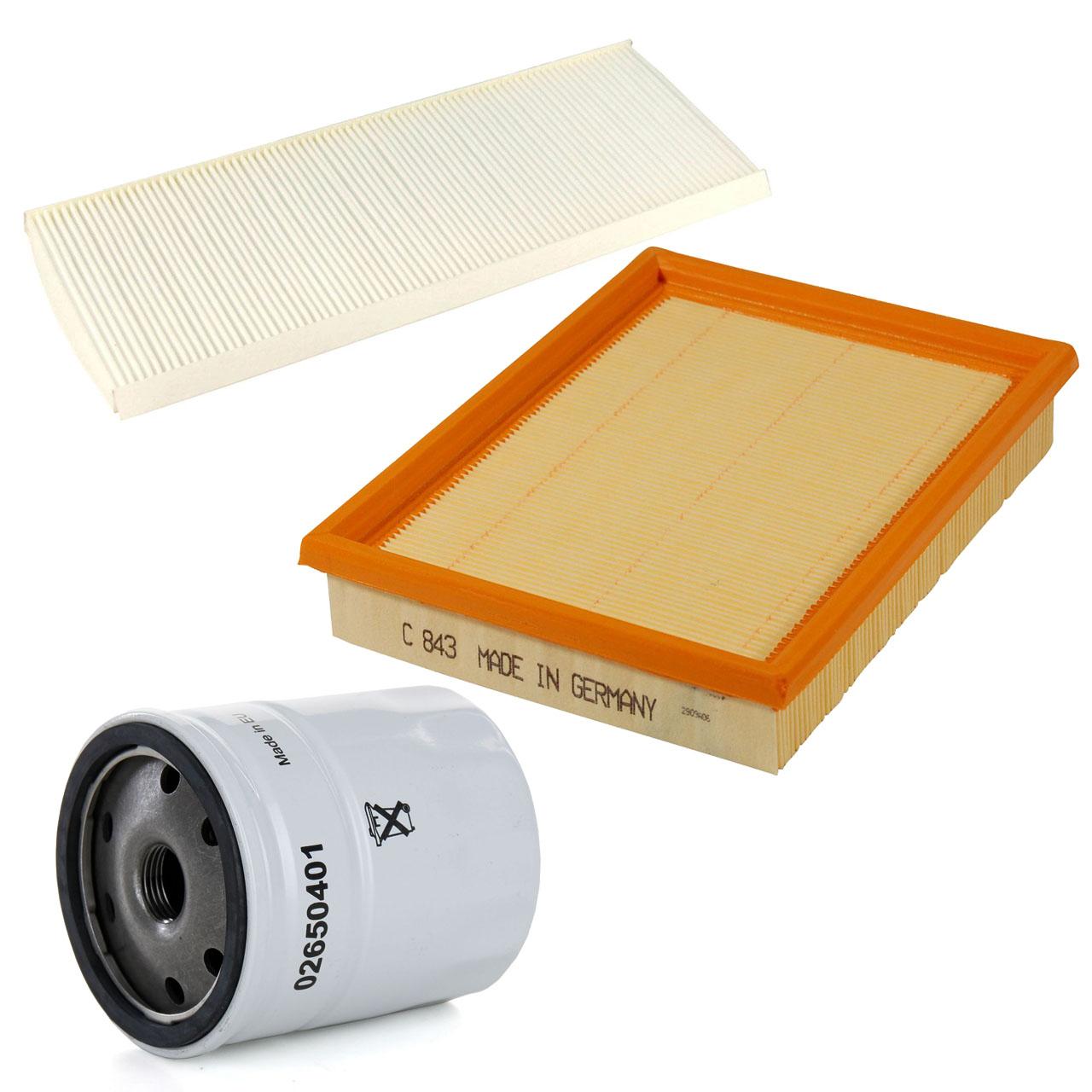 Inspektionskit Filterpaket Filterset für Opel Combo Corsa B Tigra A 1.2 1.4 1.6