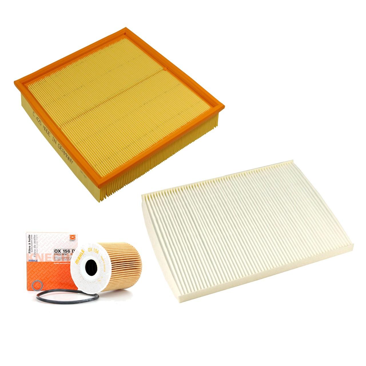 Inspektionskit Filterpaket Filterset OPEL Omega B 2.5 DTI 150 PS Y25DT
