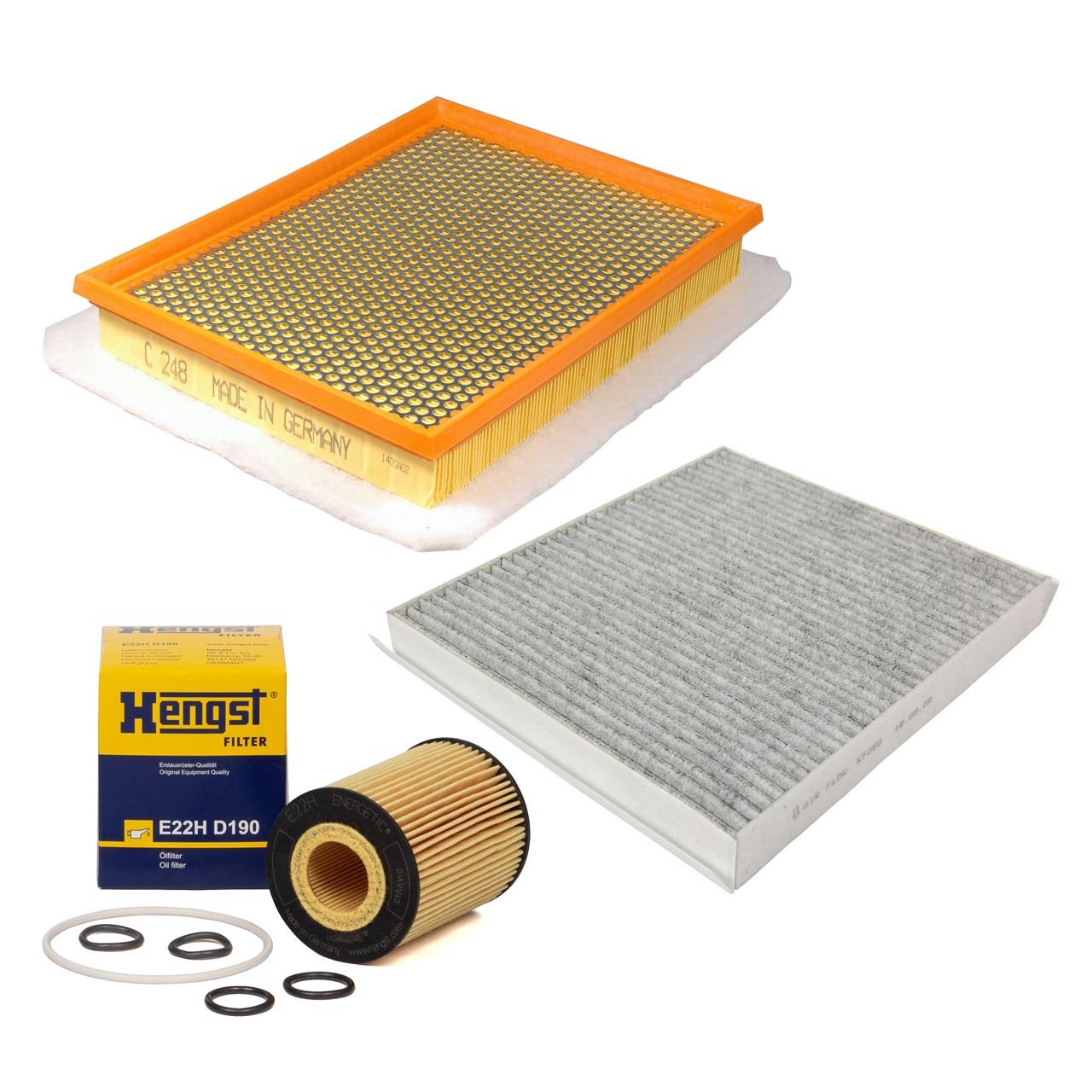Inspektionskit Filterpaket Filterset für Opel Zafira B 1.7CDTI 110/125 PS