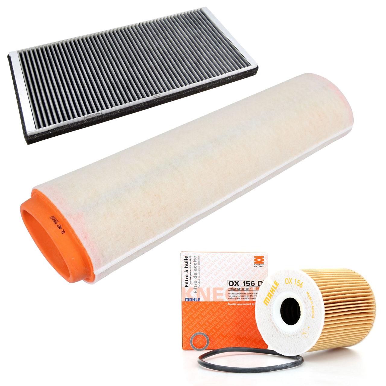 Inspektionskit Filterpaket Filterset für BMW X5 E53 3.0d 184 PS mit Klimaanlage