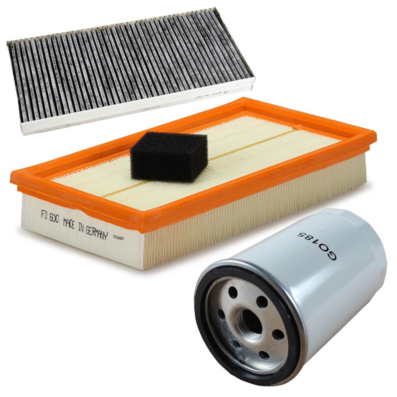 Inspektionskit Filterpaket Filterset für Ford Focus I 1.6-2.0 16V ST 100-173PS