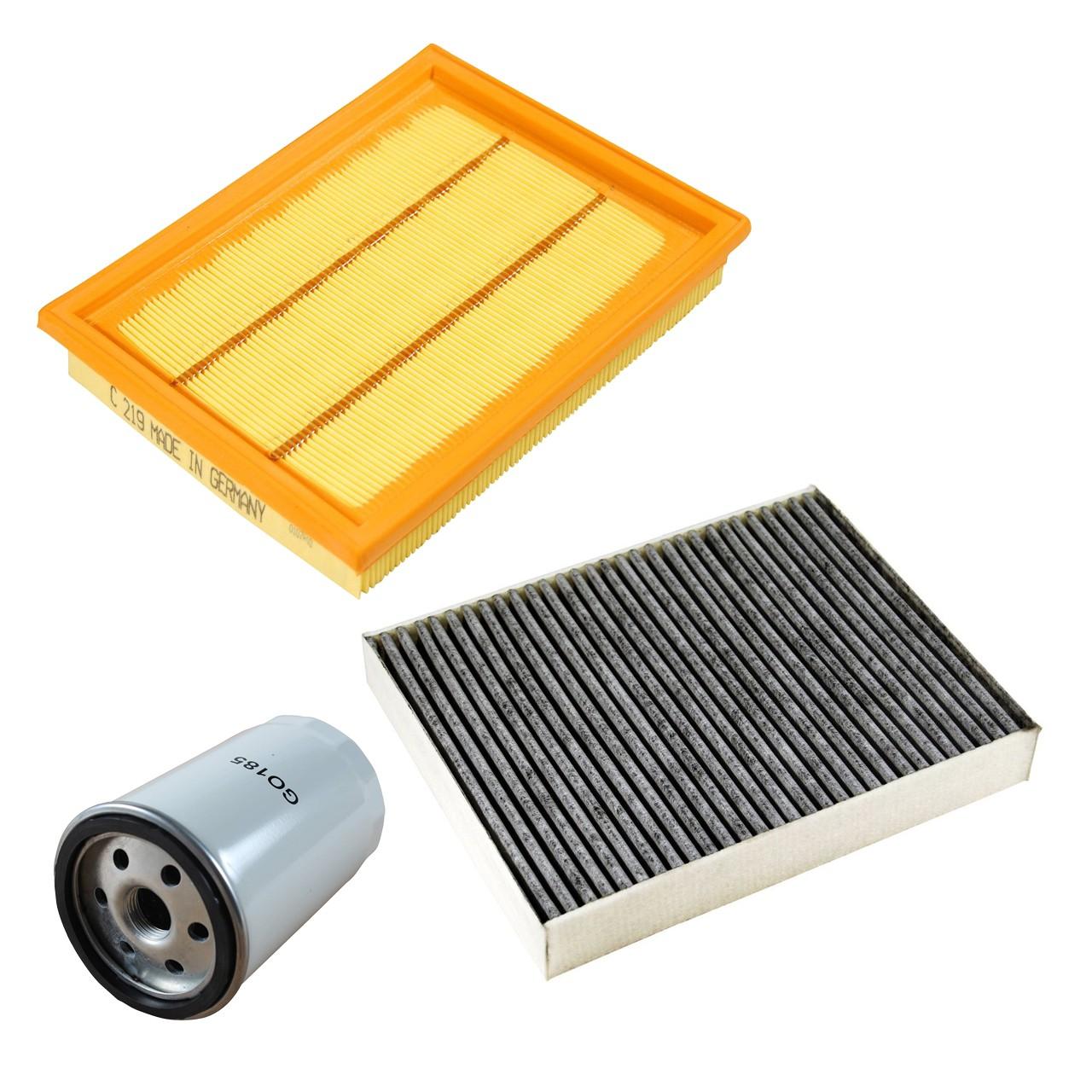 Inspektionskit Filterpaket Filterset für Ford Fiesta V MK5 1.3 1.6 16V Fusion