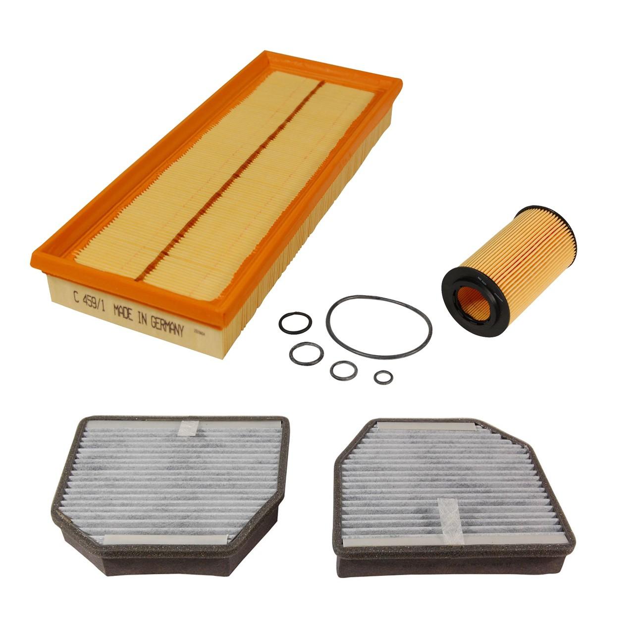 Inspektionskit Filterpaket Filterset für Mercedes SL R230 55AMG 475/500/517 PS