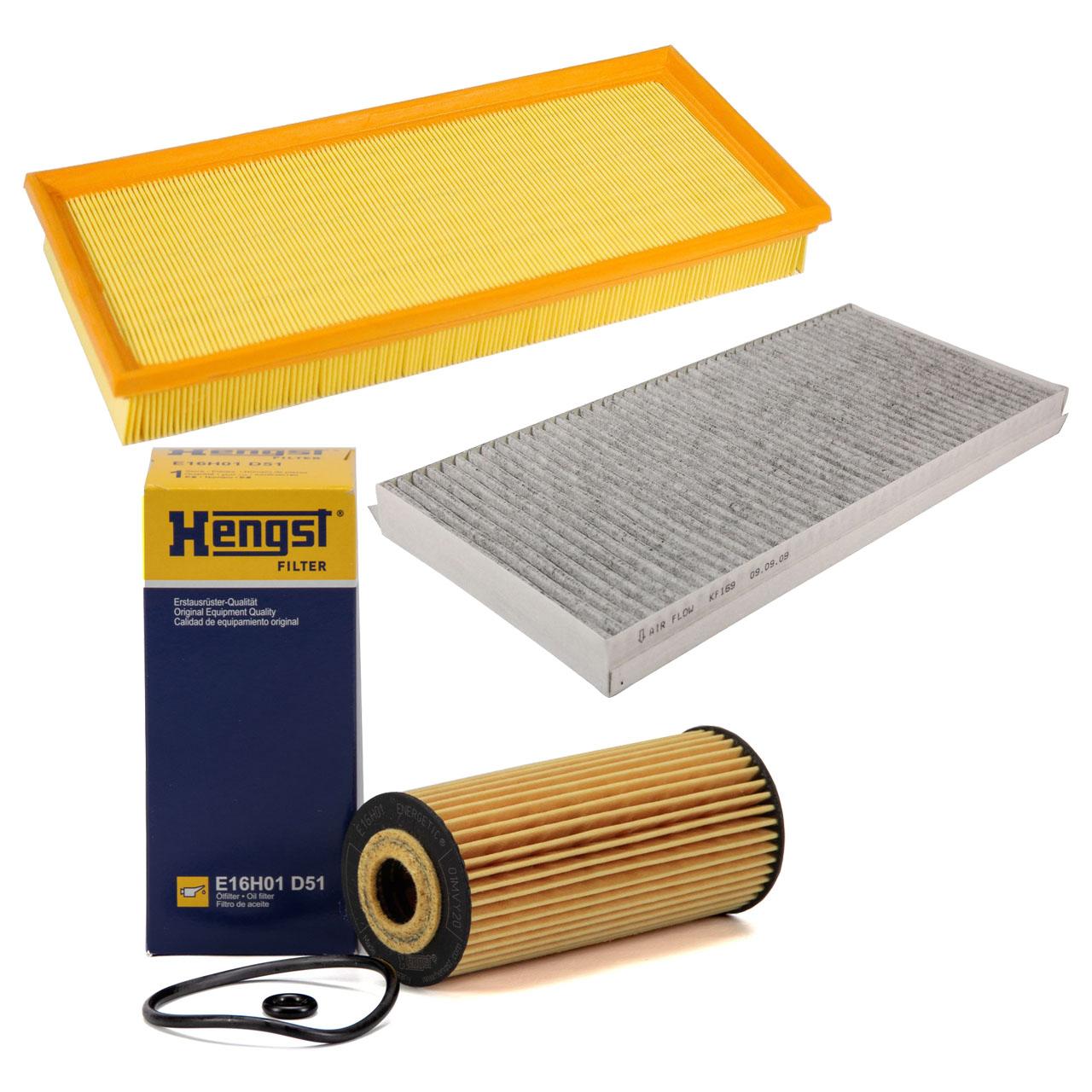 Inspektionskit Filterset 3-tlg MERCEDES W169 A160-200 CDI W245 B180/200 CDI OM640