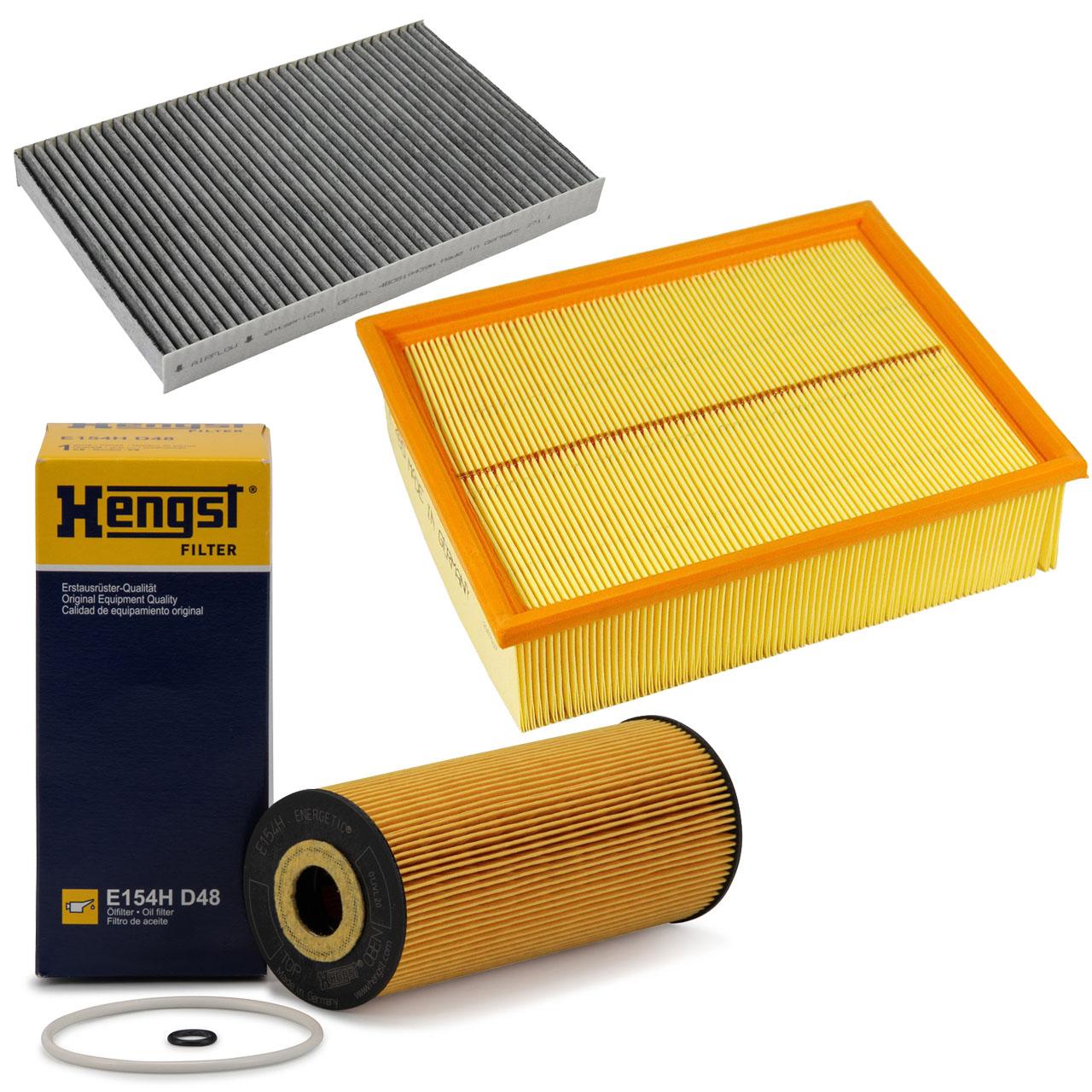 Inspektionskit Filterpaket 3-tlg AUDI A4 (8E B6 B7) 1.9 TDI 2.0 TDI 101-140 PS