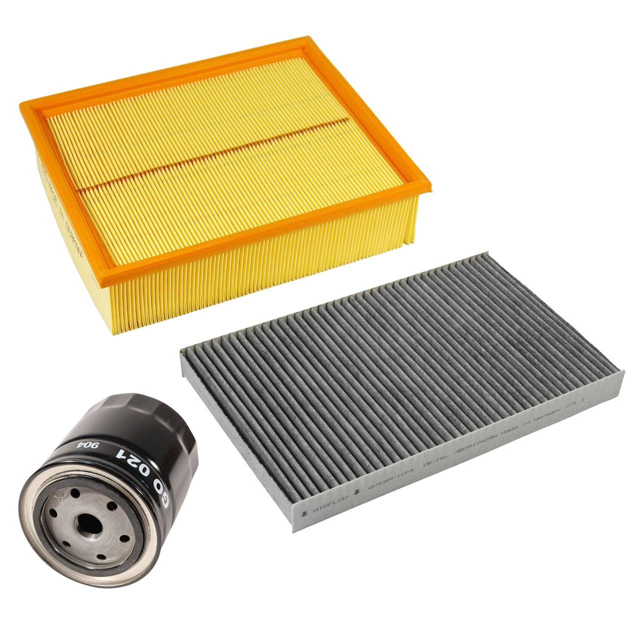 Inspektionskit Filterpaket Filterset für Audi A4 (8E B6 B7) 2.4 3.0 163-220 PS