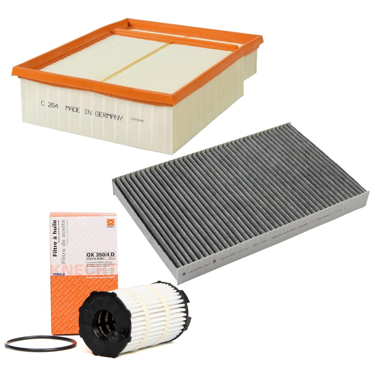 Inspektionskit Filterpaket Filterset für Audi A4 (8E B7) RS4 quattro 420 PS