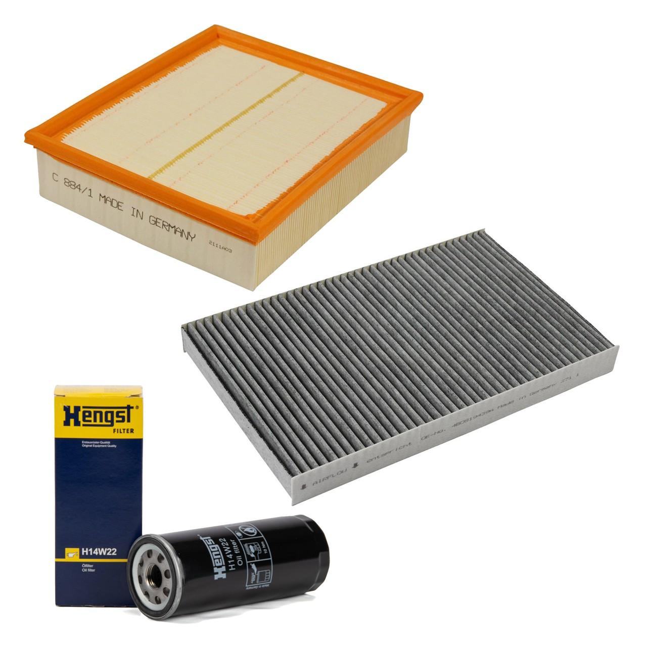 Filterpaket Filterset für Audi A6 (4B C5) 4.2 / S6 quattro 299/340 PS