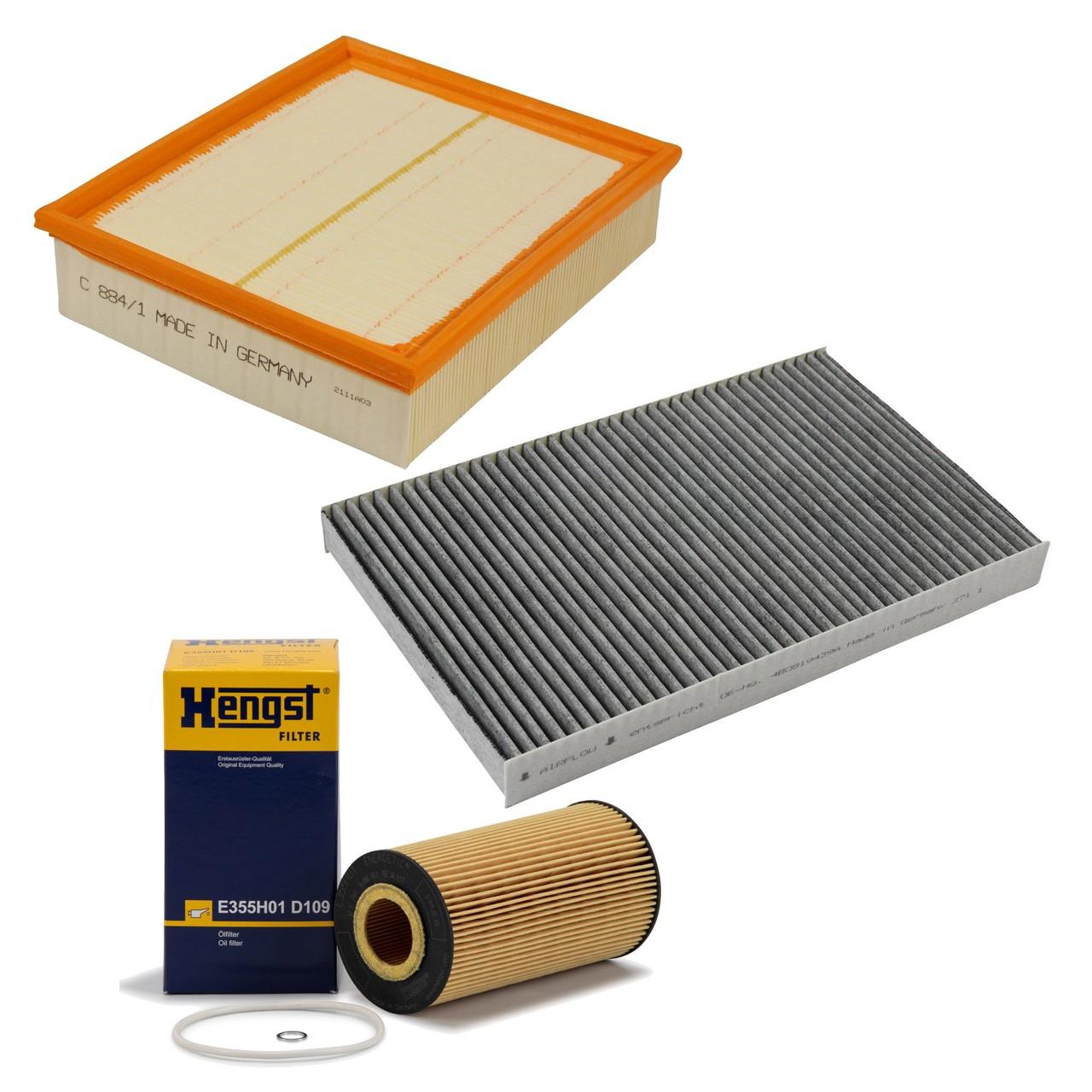 Inspektionskit Filterpaket AUDI Allroad 4B C5 4.2 V8 quattro 299 PS