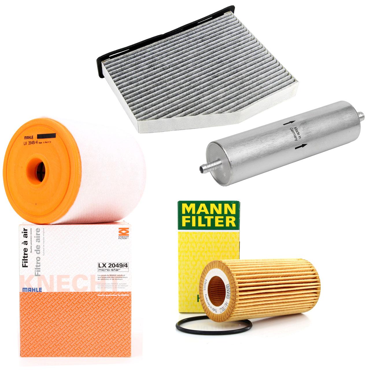 Filterpaket Filterset 4-tlg AUDI A6 (4G C7) A7 (4G) 3.0 TDI 190-272 PS