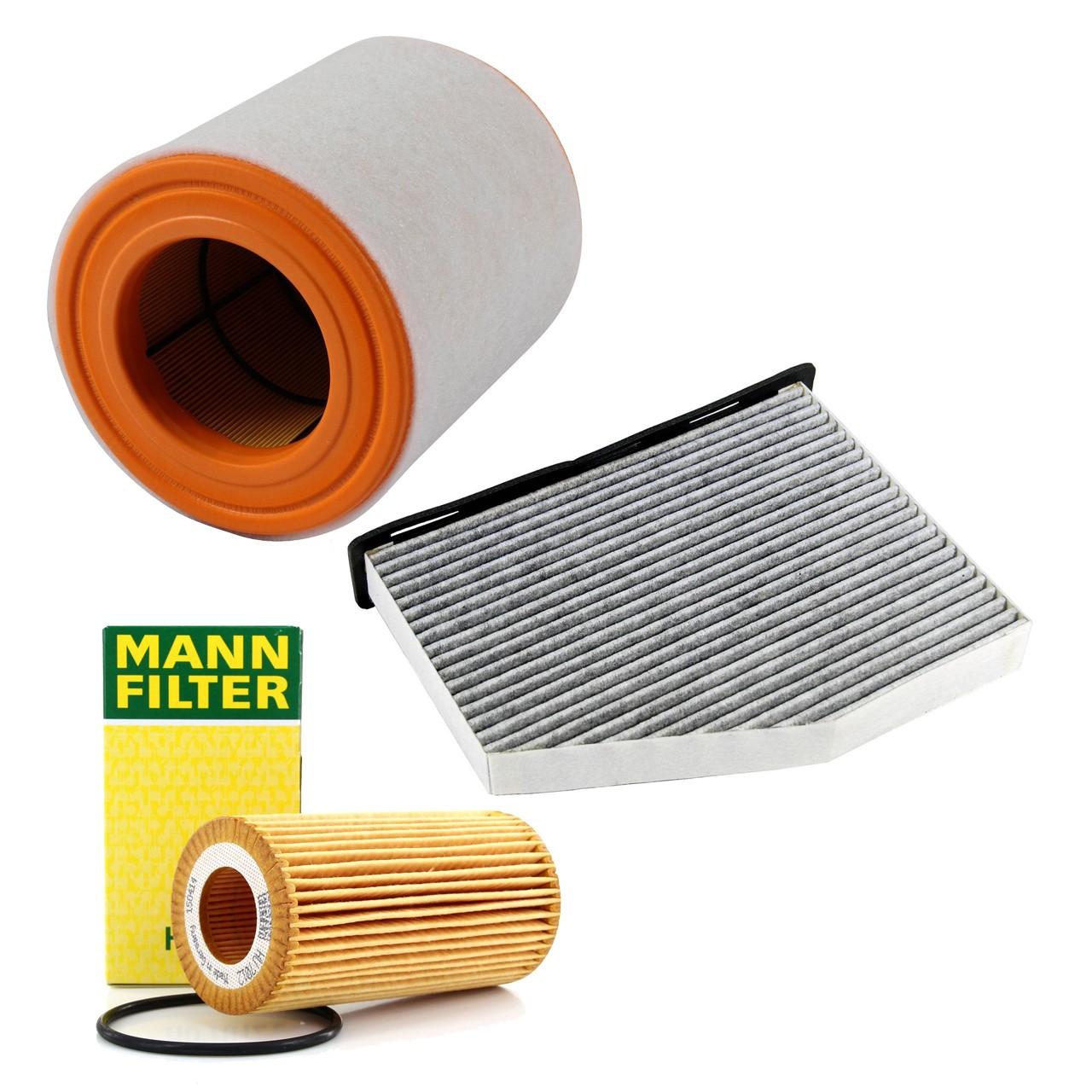 Inspektionskit Filterpaket Filterset für Audi A6 (4G C7) A7 4G 3.0TDI 211-272 PS