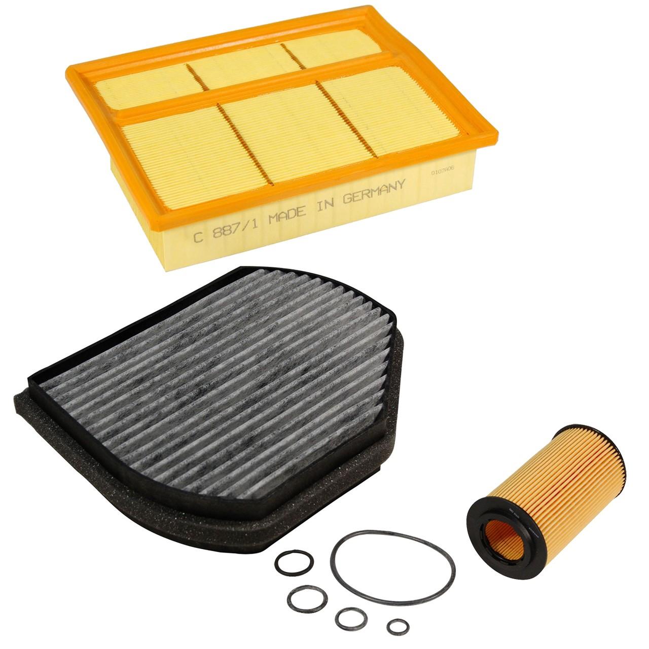 Inspektionskit Filterpaket Filterset für Mercedes W202 C240 C280 C208 A208 320