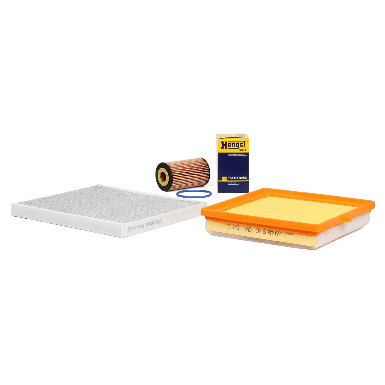 Inspektionskit Filterpaket Filterset OPEL Adam 1.2 1.4 / LPG 1.4S 69-150 PS