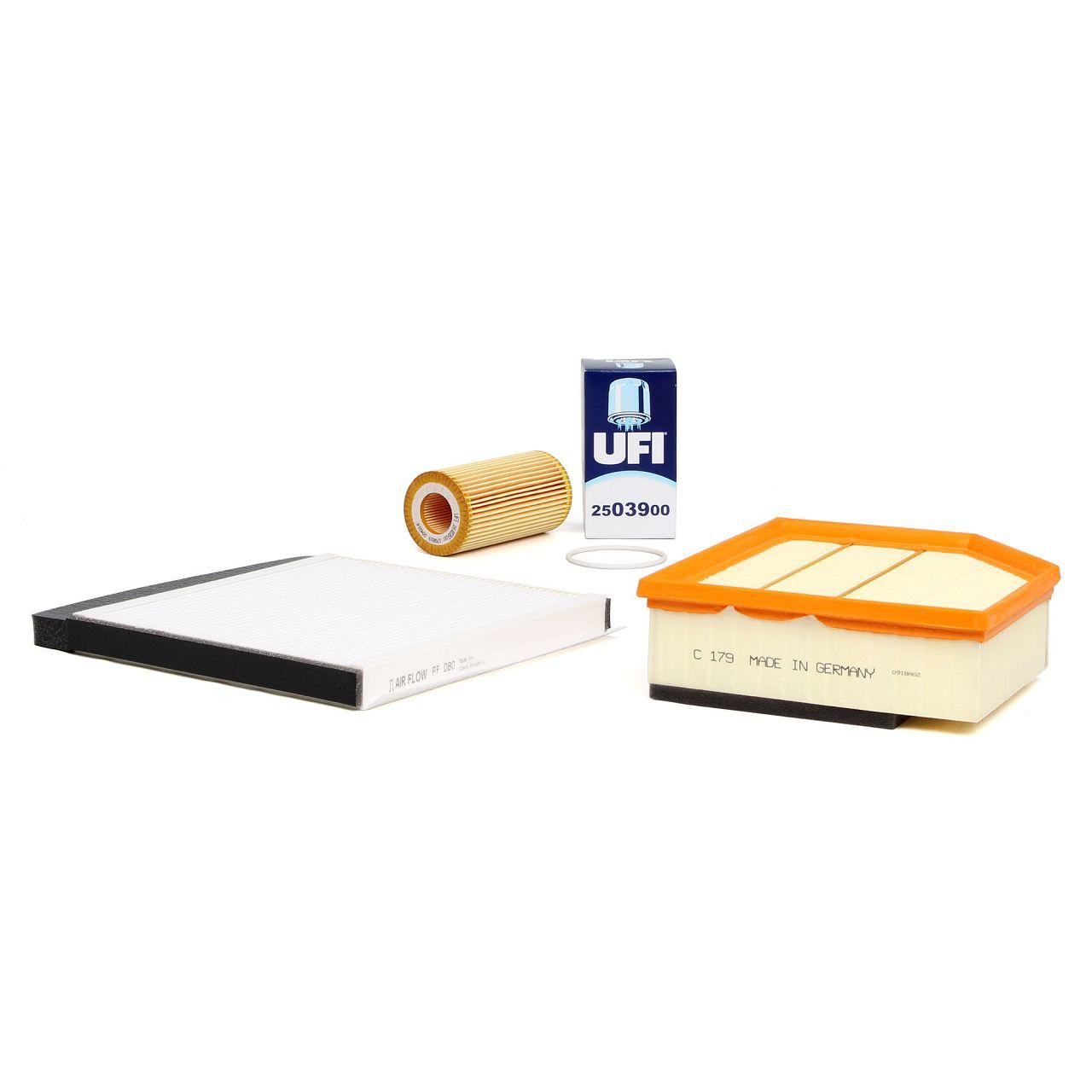 Filterpaket Filterset für Volvo S60 I V70 II XC70 Cross Country XC90 I 2.4D D5