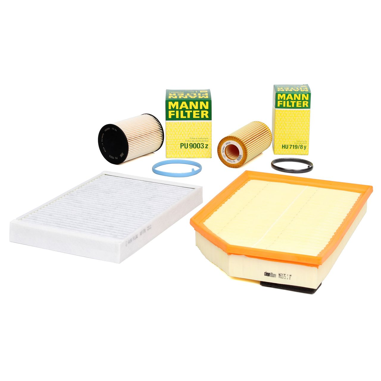 Filterpaket Filterset für VOLVO S60 II S80 II V60 V70 III XC60 XC70 II D3 D4 D5