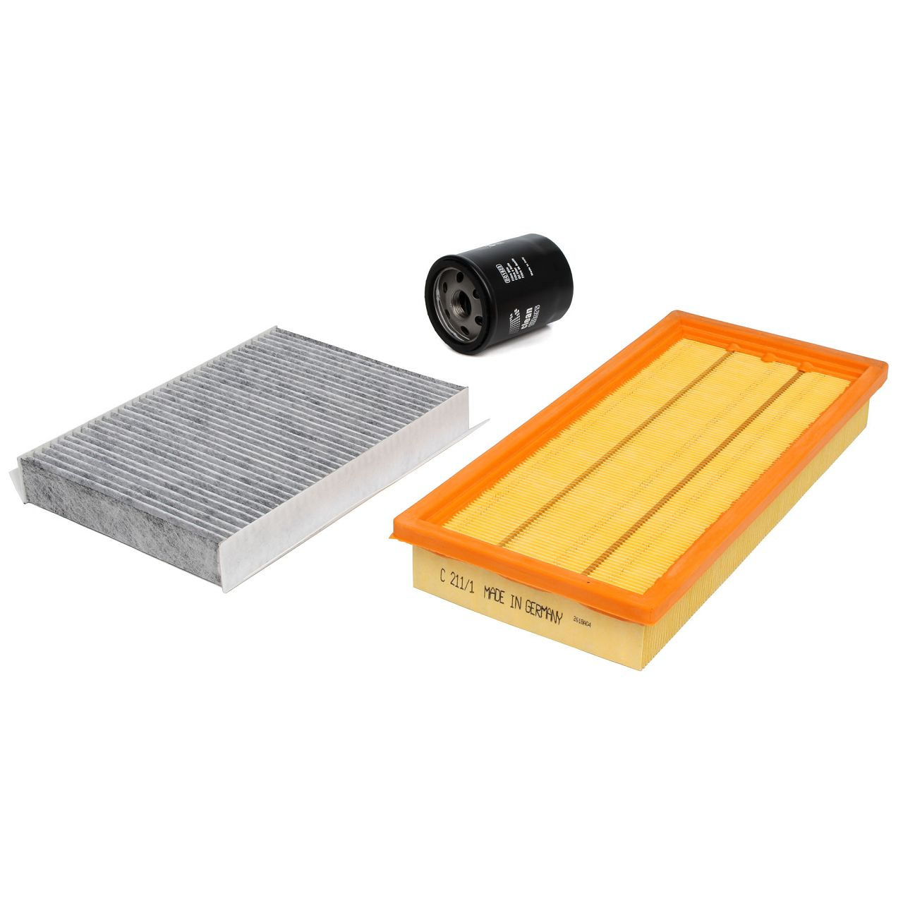 Inspektionskit Filterpaket Filterset für FIAT 500L (351_, 352_) 1.4 95 PS