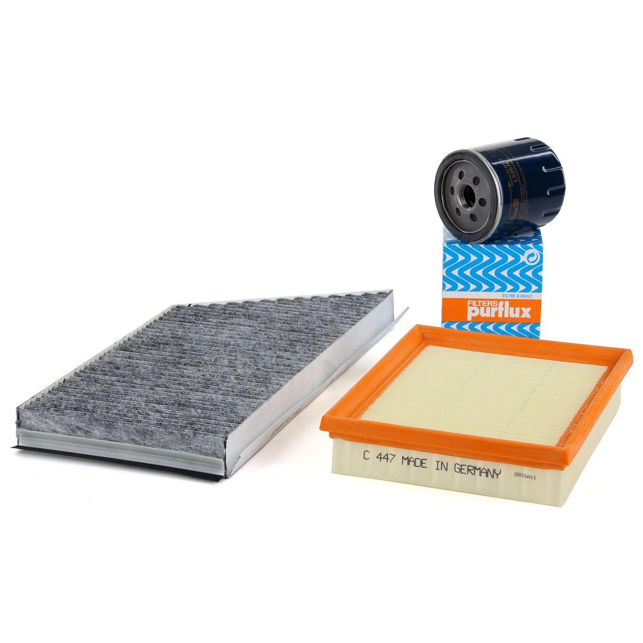 Inspektionskit Filterpaket Filterset für PEUGEOT 206 Schrägheck 1.1i 1.4i 1.6i