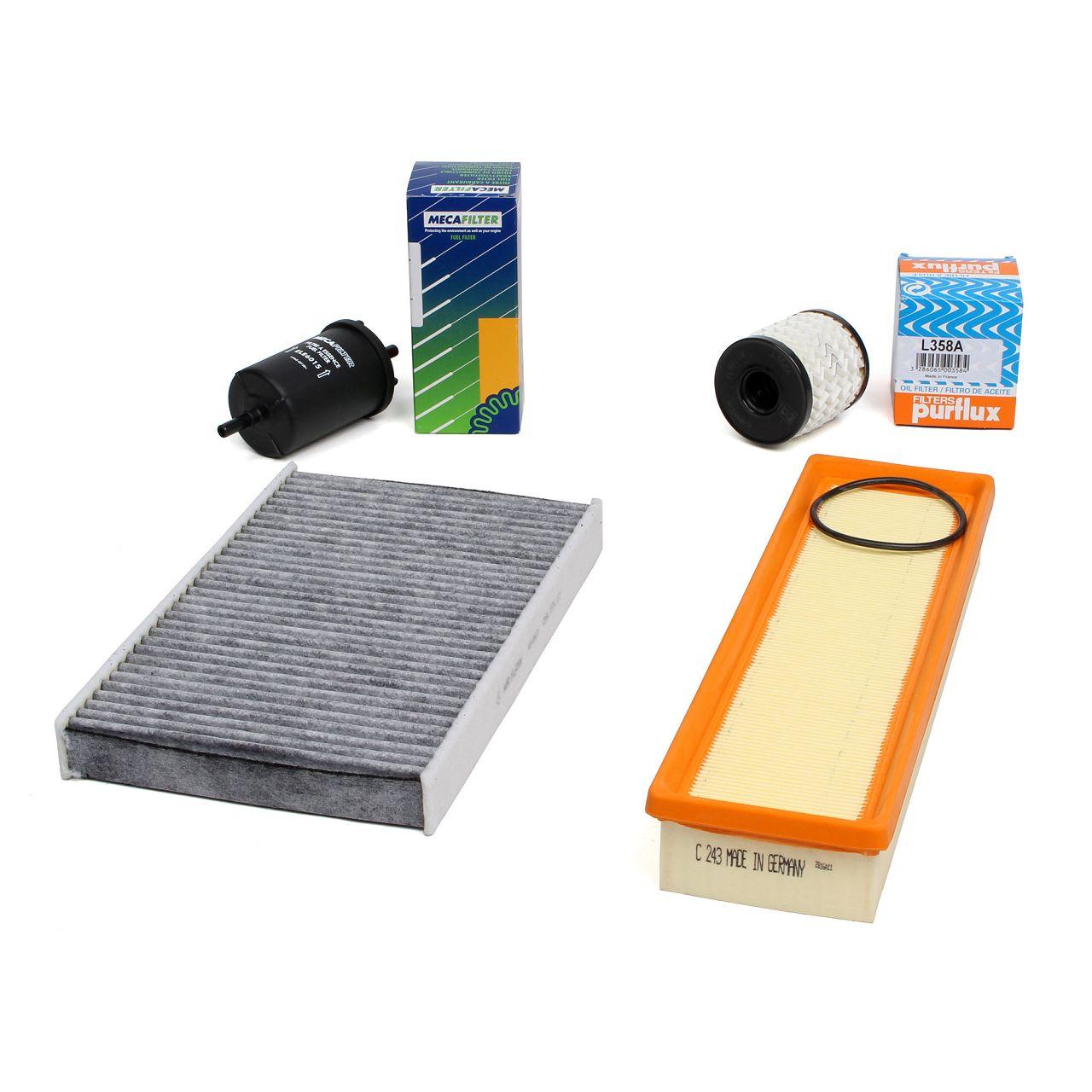 Inspektionskit Filterpaket Filterset für PEUGEOT 307 / SW / BREAK 1.4 16V 88 PS