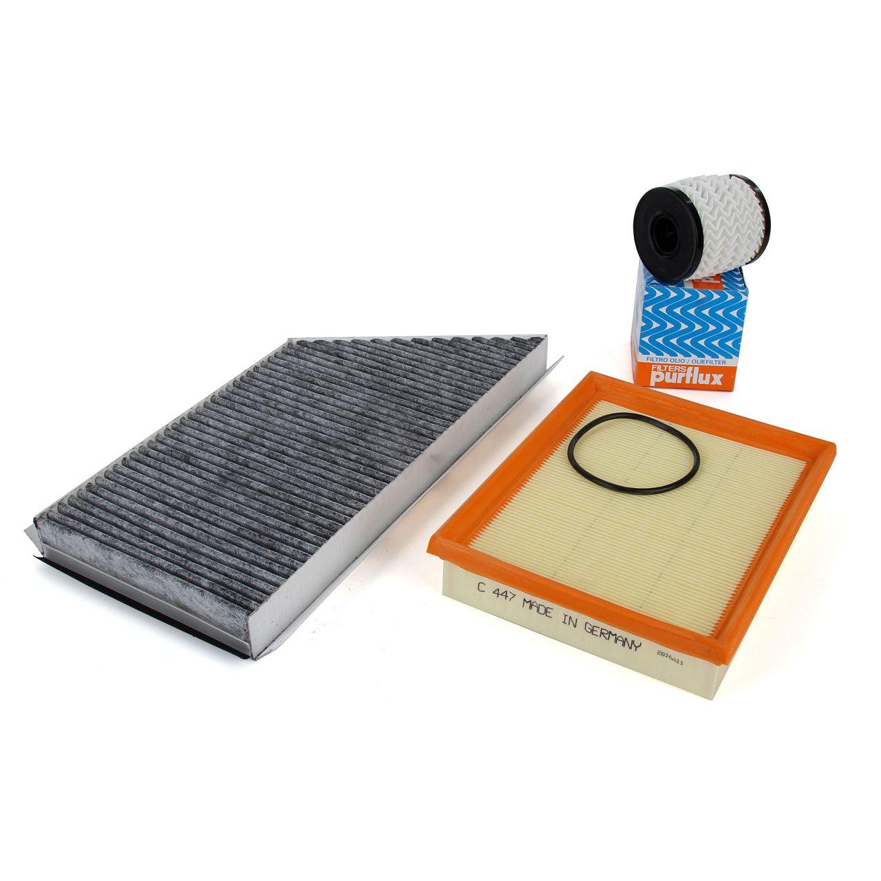 Filterpaket Filterset für PEUGEOT 206 / CC / SW 1.1 1.4 1.6 16V 60/75/109 PS