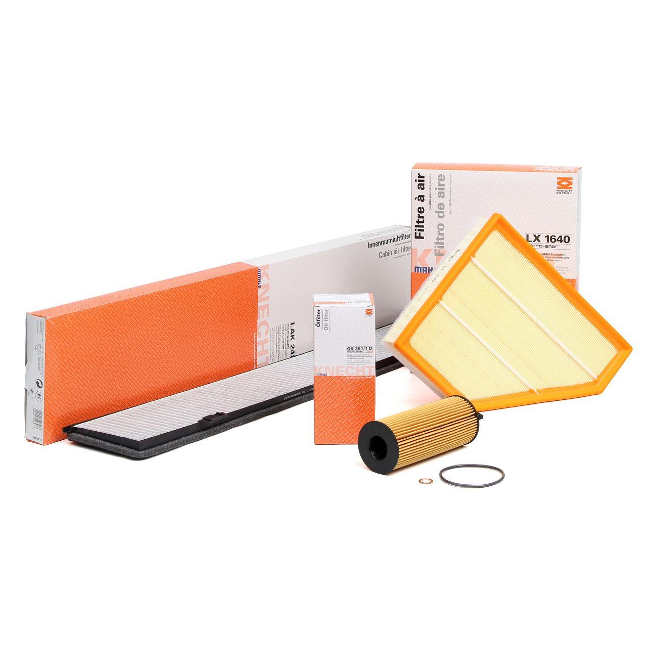 KNECHT / MAHLE Filterset für BMW E81-88 116-123d E90-93 316-320d X1 E84 18-23d