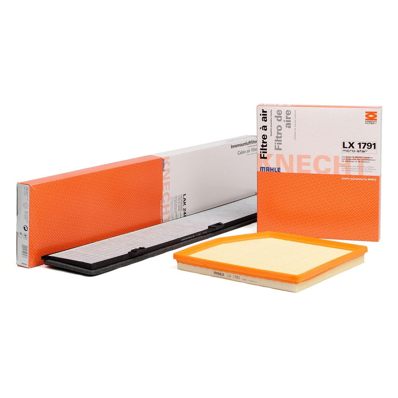KNECHT / MAHLE Filterset für BMW 1er E82 E88 135i 3er E90-93 335i 306/326 PS