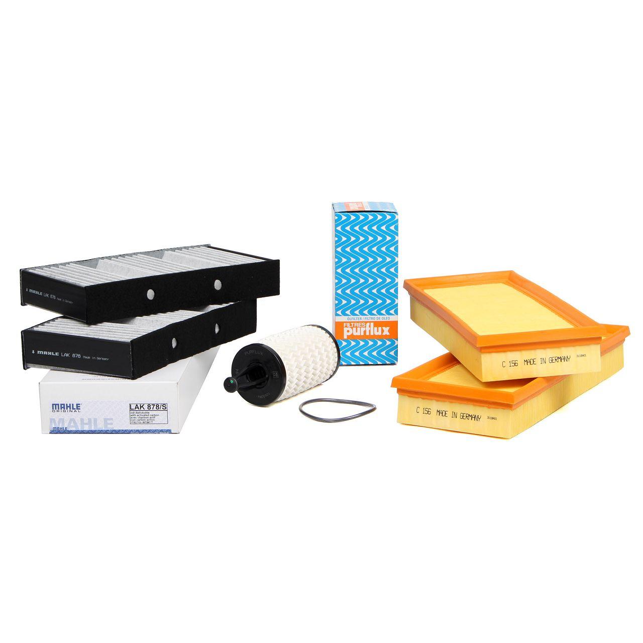 Inspektionskit für MERCEDES GL X166 GLE W166 C292 GLS X166 500/63 AMG 4-matic
