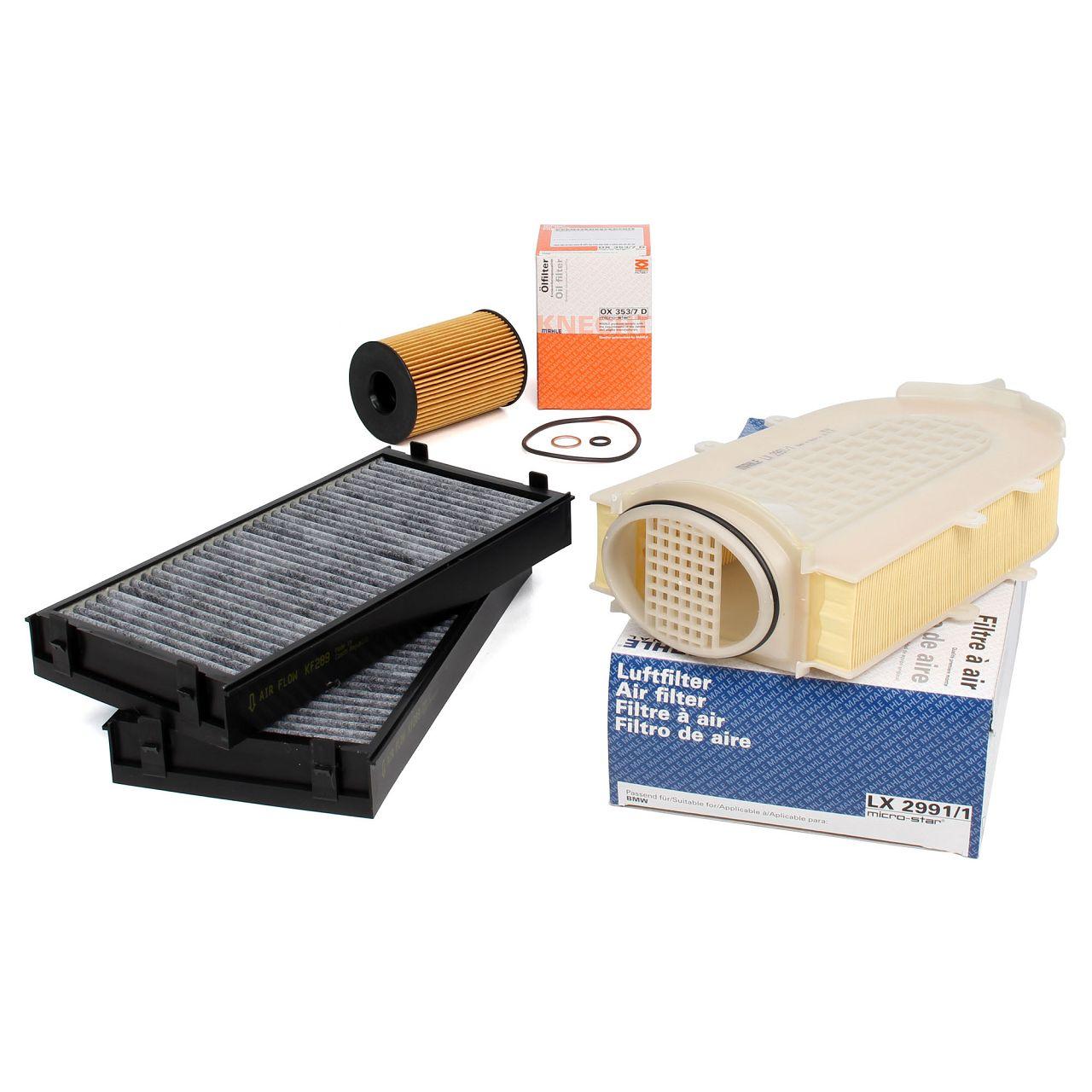 Filterpaket Filterset für BMW X5 F15 F85 X6 F16 F86 xDrive50i 449 PS