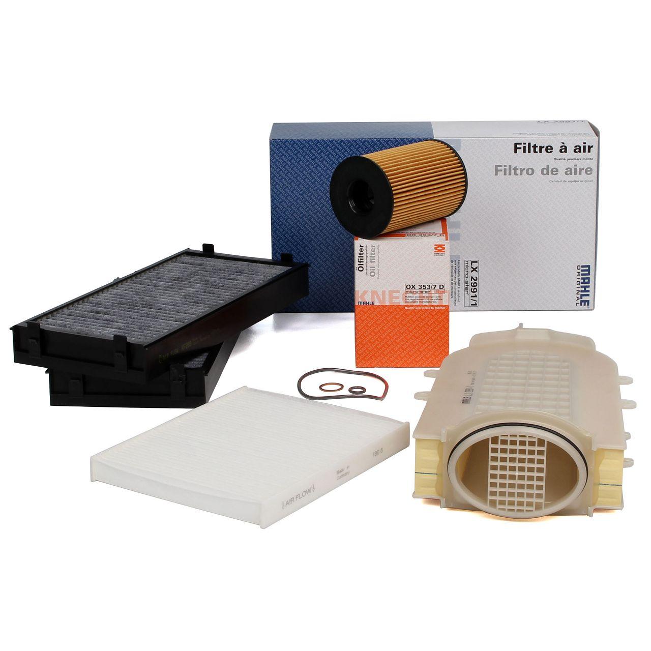 Inspektionskit Filterpaket für BMW X5 F15 F85 + X6 F16 F86 xDrive50i 449 PS
