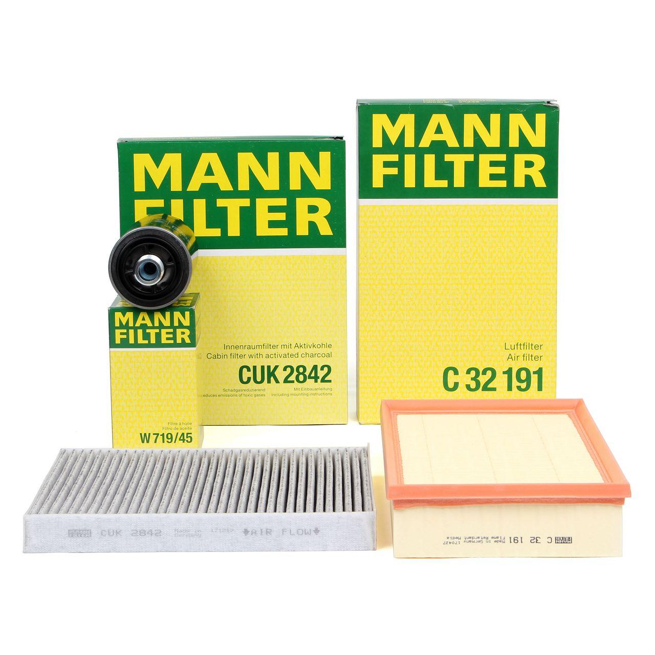 MANN Filterpaket Filterset für VW MULTIVAN TRANSPORTER T5 2.0 TSI 150/204 PS