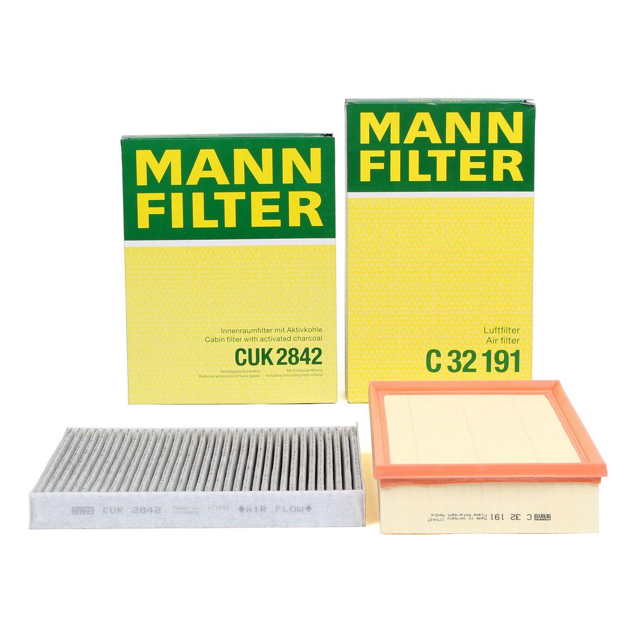 MANN Inspektionskit Filterpaket Filterset für VW MULTIVAN TRANSPORTER T5 T6