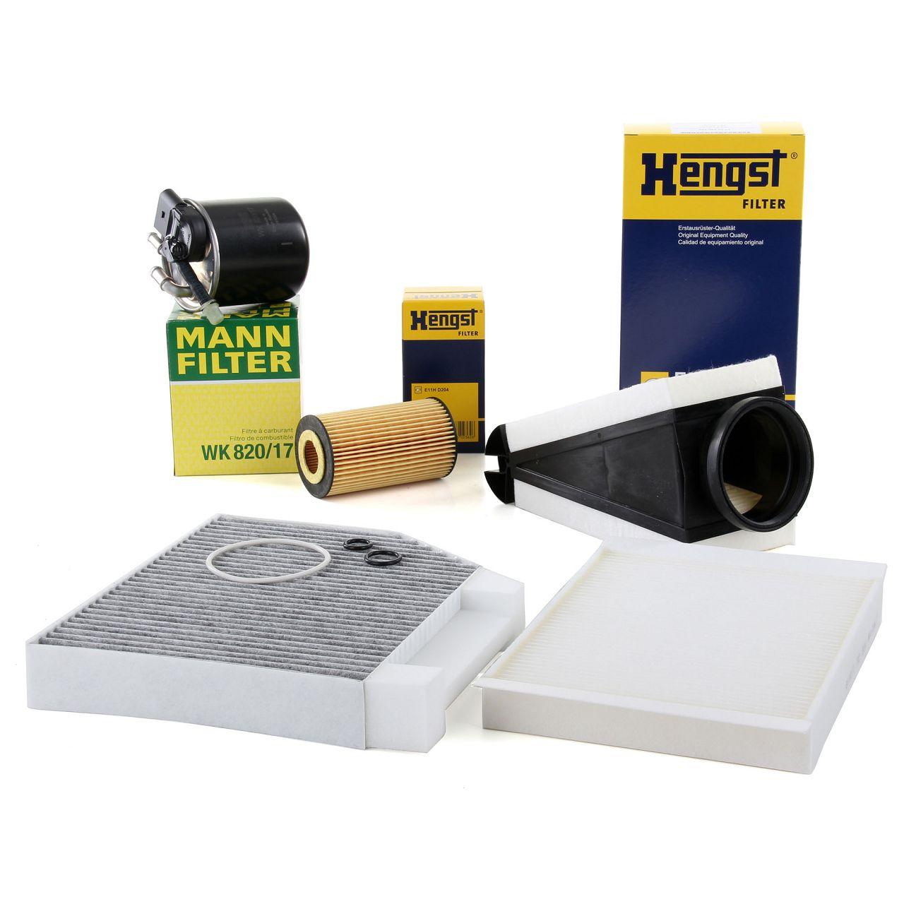 Filterset MERCEDES C-Klasse W205 C220/250/300 BlueTEC/d C220d 4-matic OM651