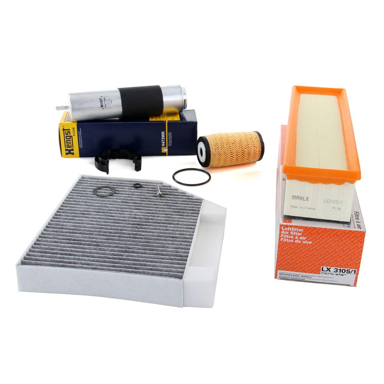 Inspektionskit 4-tlg MERCEDES C-Klasse W205 C 180/200 BlueTEC/d 116/136 PS OM626