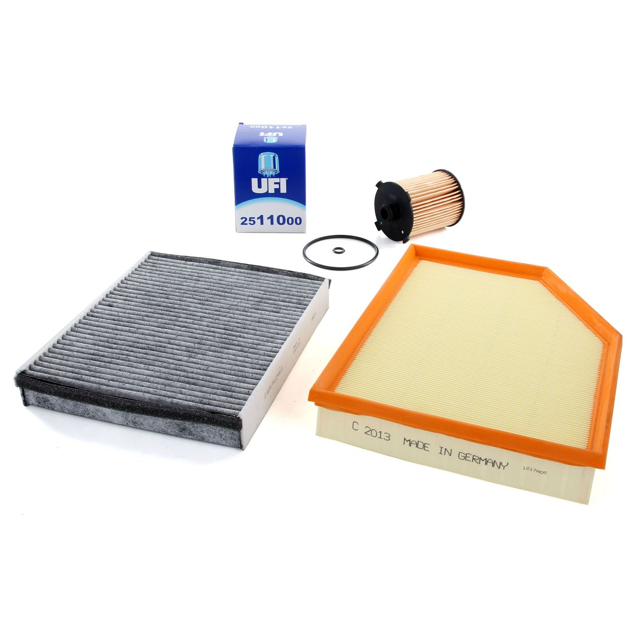 Inspektionskit Filterset VOLVO V40 Schrägheck (525 526) T2 T3 T4 T5 D2 D3 D4