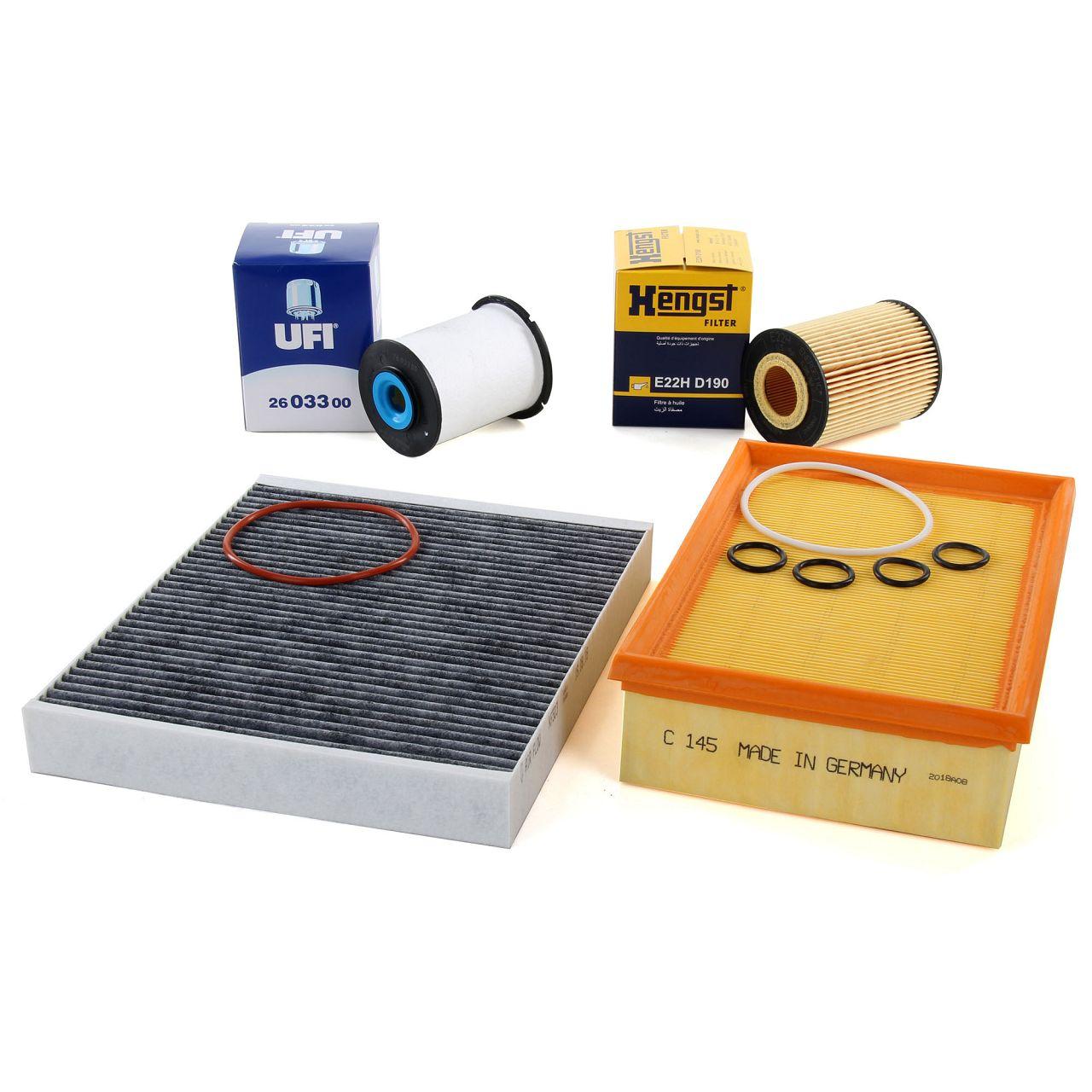 Inspektionskit Filterpaket Filterset für OPEL MOKKA / MOKKA X J13 1.7 CDTI 131PS