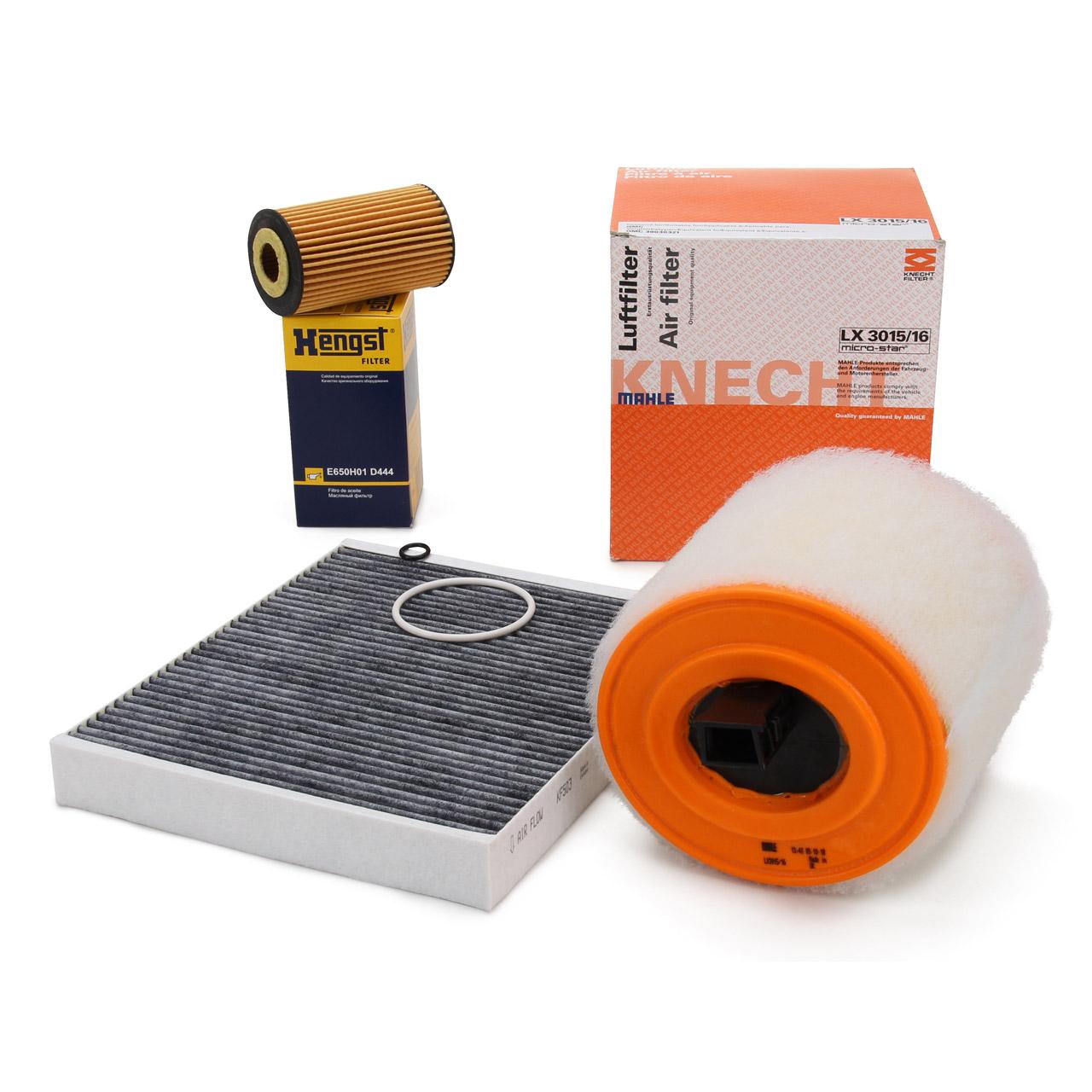 Filterpaket Inspektionskit für OPEL ASTRA K 1.6 CDTi 95 / 110 / 136 / 160 PS