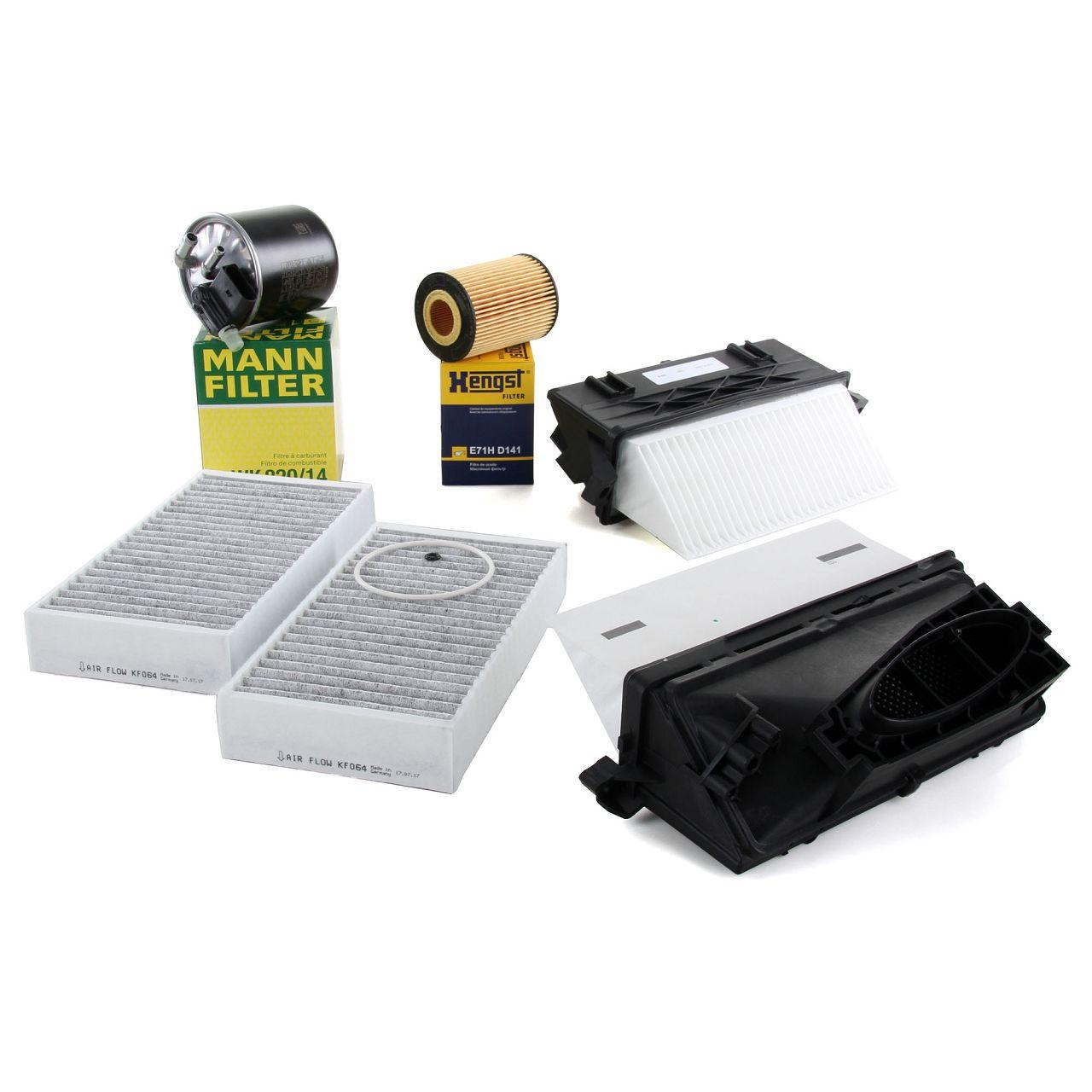 Filterset für MERCEDES GL-KLASSE X164 GL 320 CDI / 350 BlueTEC 4-matic 211 PS