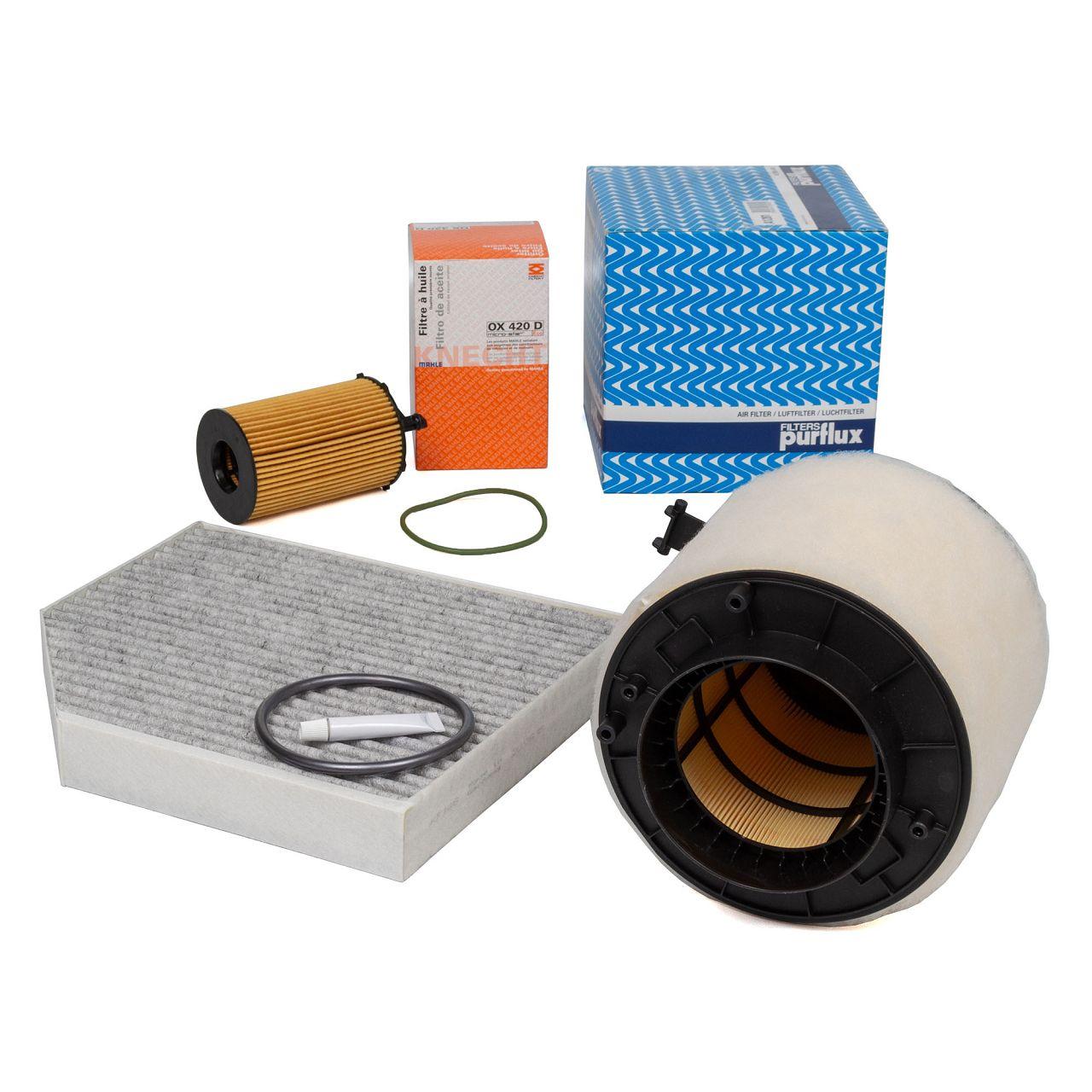 Filterpaket Filterset für AUDI A4 (8K B8) A5 (8T 8F) Q5 (8RB) SQ5 TDI 3.0TDI