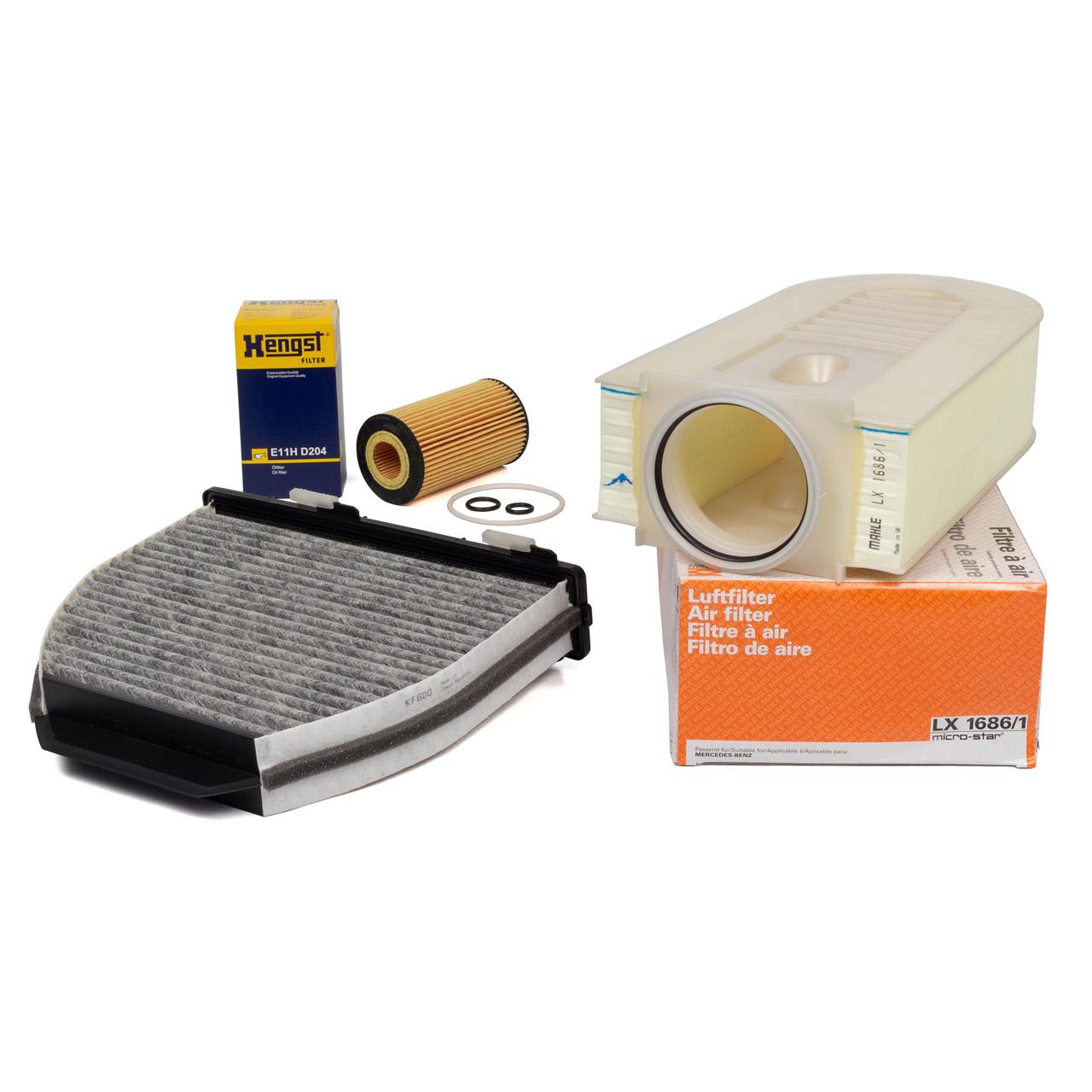 Inspektionskit MERCEDES W204 C218 X218 W212 C207 X204 200/220/250CDI OM651
